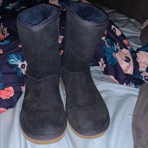 Navy blue ugg boots